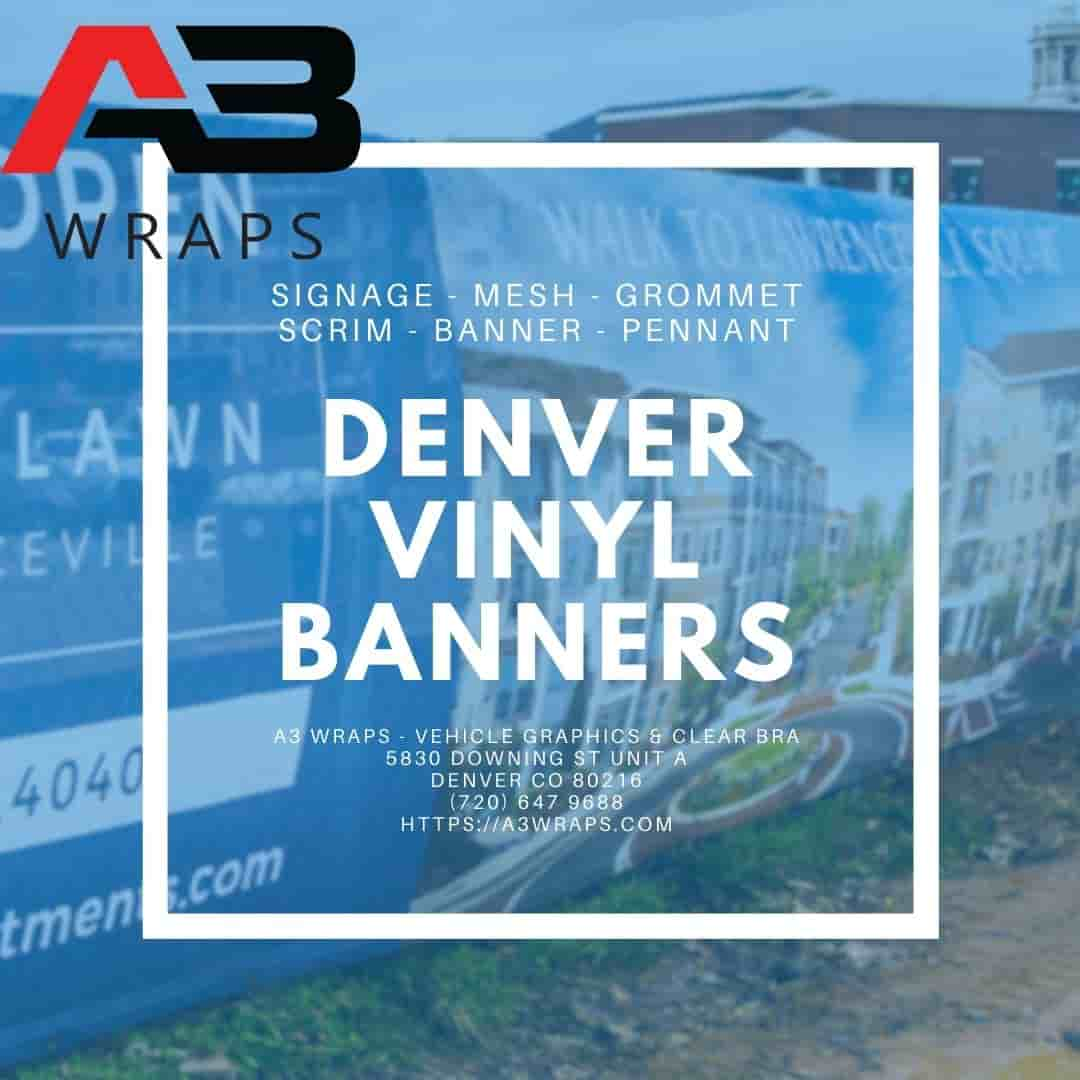 A3 Wraps - Vehicle Graphics & Clear bra - Denver Vinyl banners