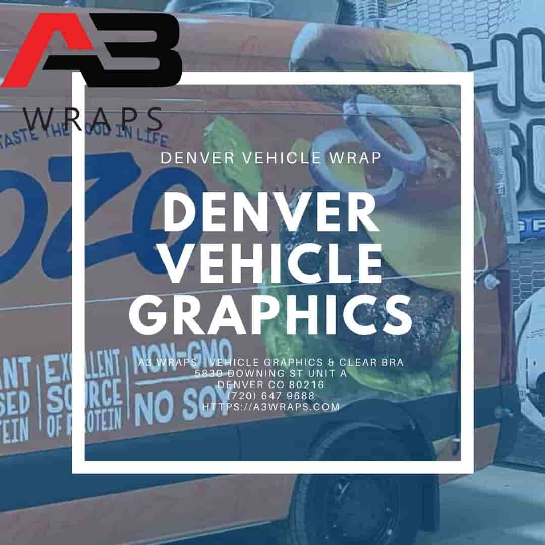 Denver Vehicle Graphics  by A3 Wraps - Vehicle Graphics & Clear Bra
