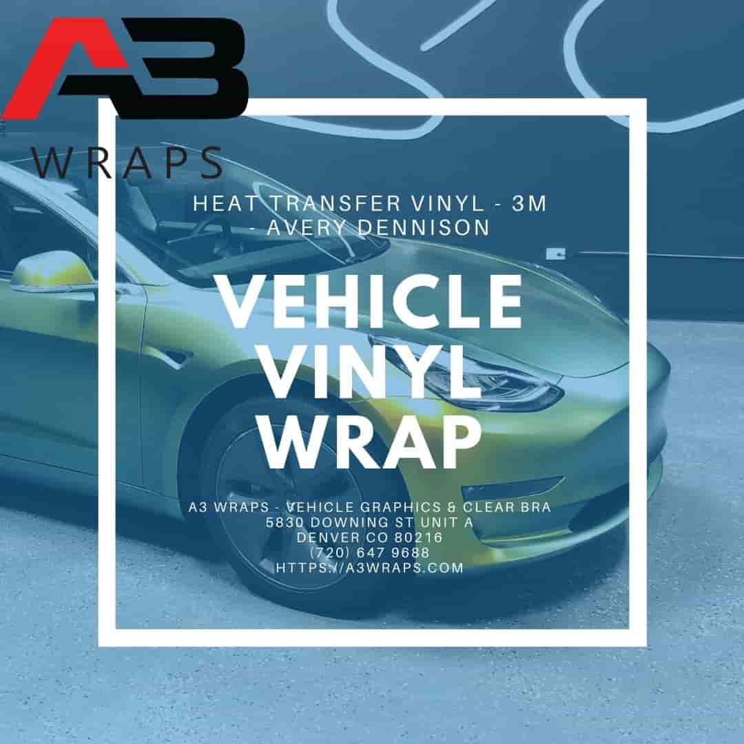 Denver Vehicle vinyl wrap  by A3 Wraps - Vehicle Graphics & Clear Bra