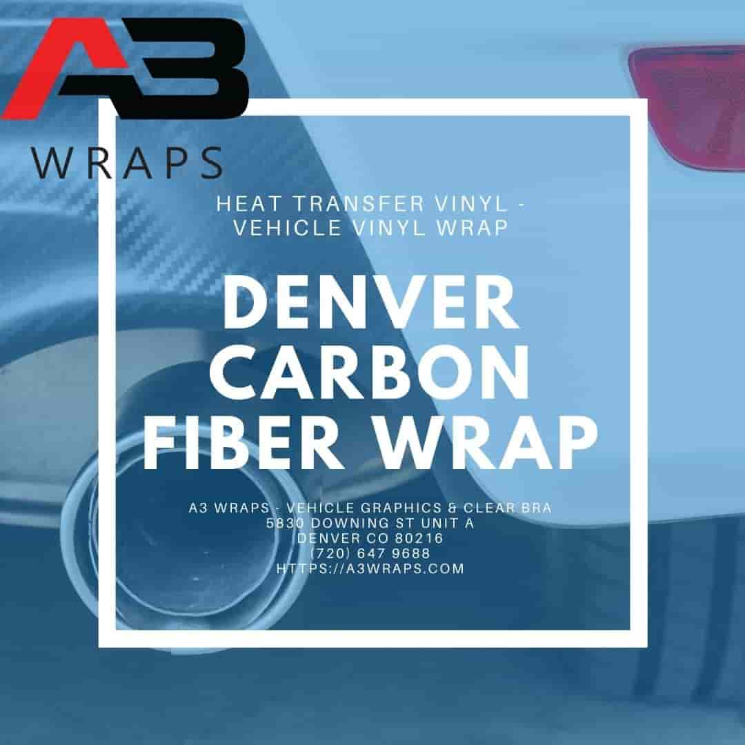 Denver carbon fiber wrap  by A3 Wraps - Vehicle Graphics & Clear Bra