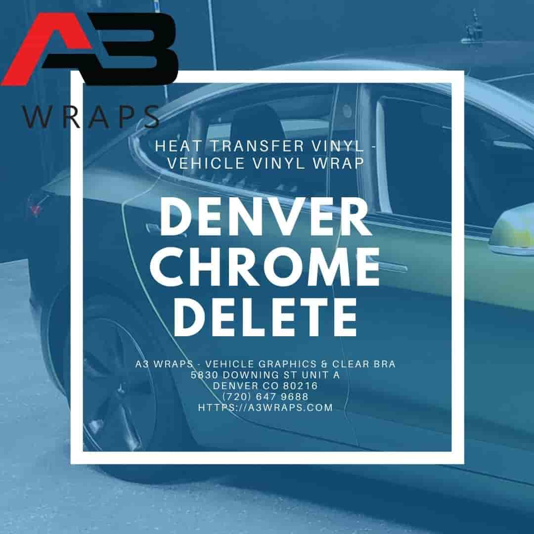 Denver chrome delete  by A3 Wraps - Vehicle Graphics & Clear Bra