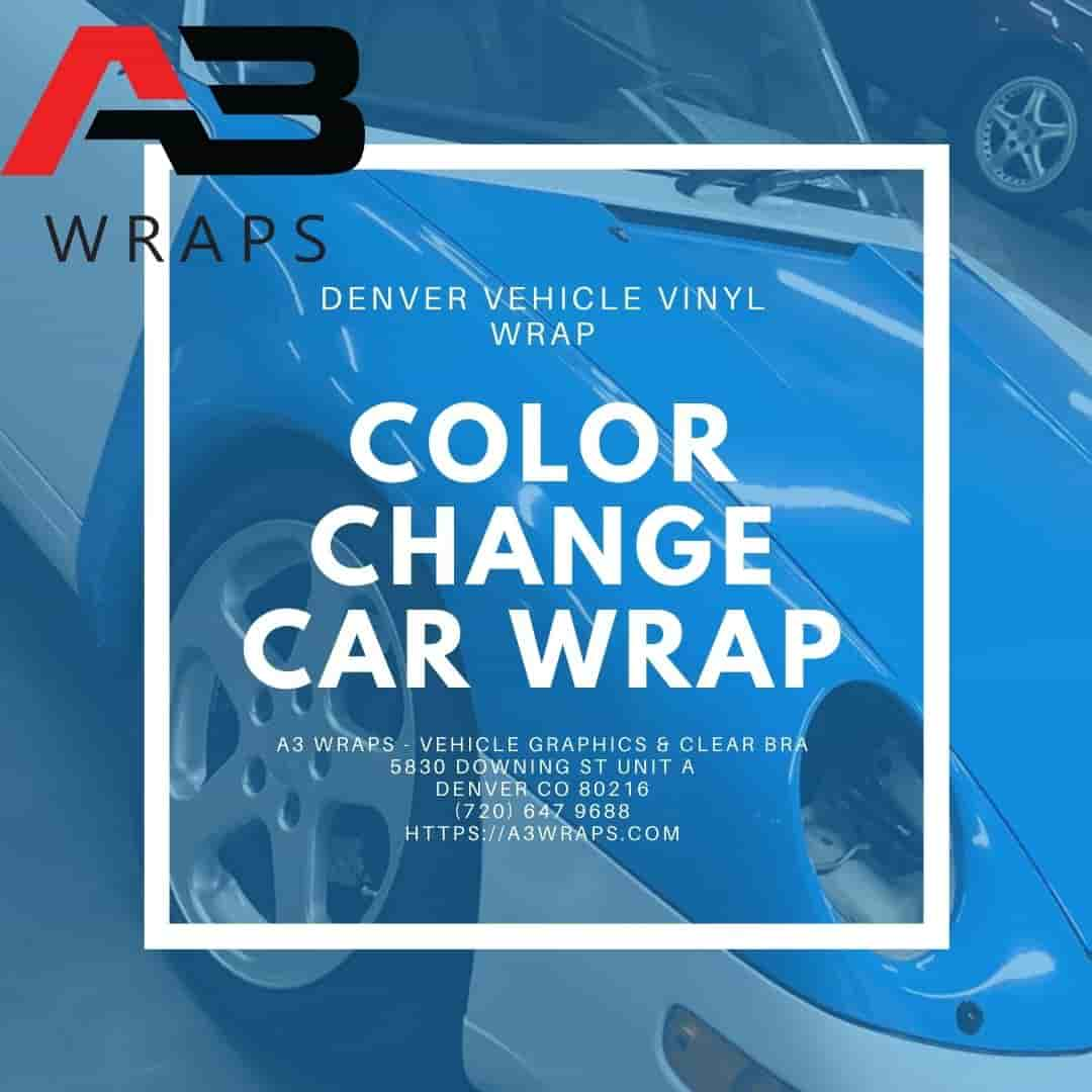 Denver color change car wrap by A3 Wraps - Vehicle Graphics & Clear Bra