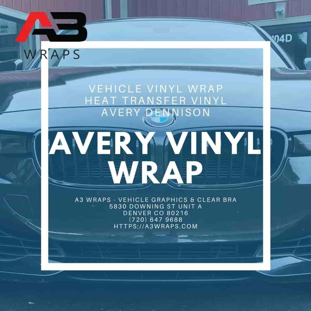 Denver Avery vinyl wrap -  A3 Wraps - Vehicle Graphics & Clear Bra