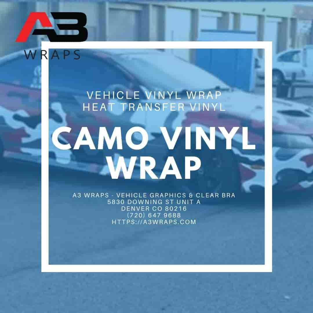 Denver camo vinyl wrap -  A3 Wraps - Vehicle Graphics & Clear Bra