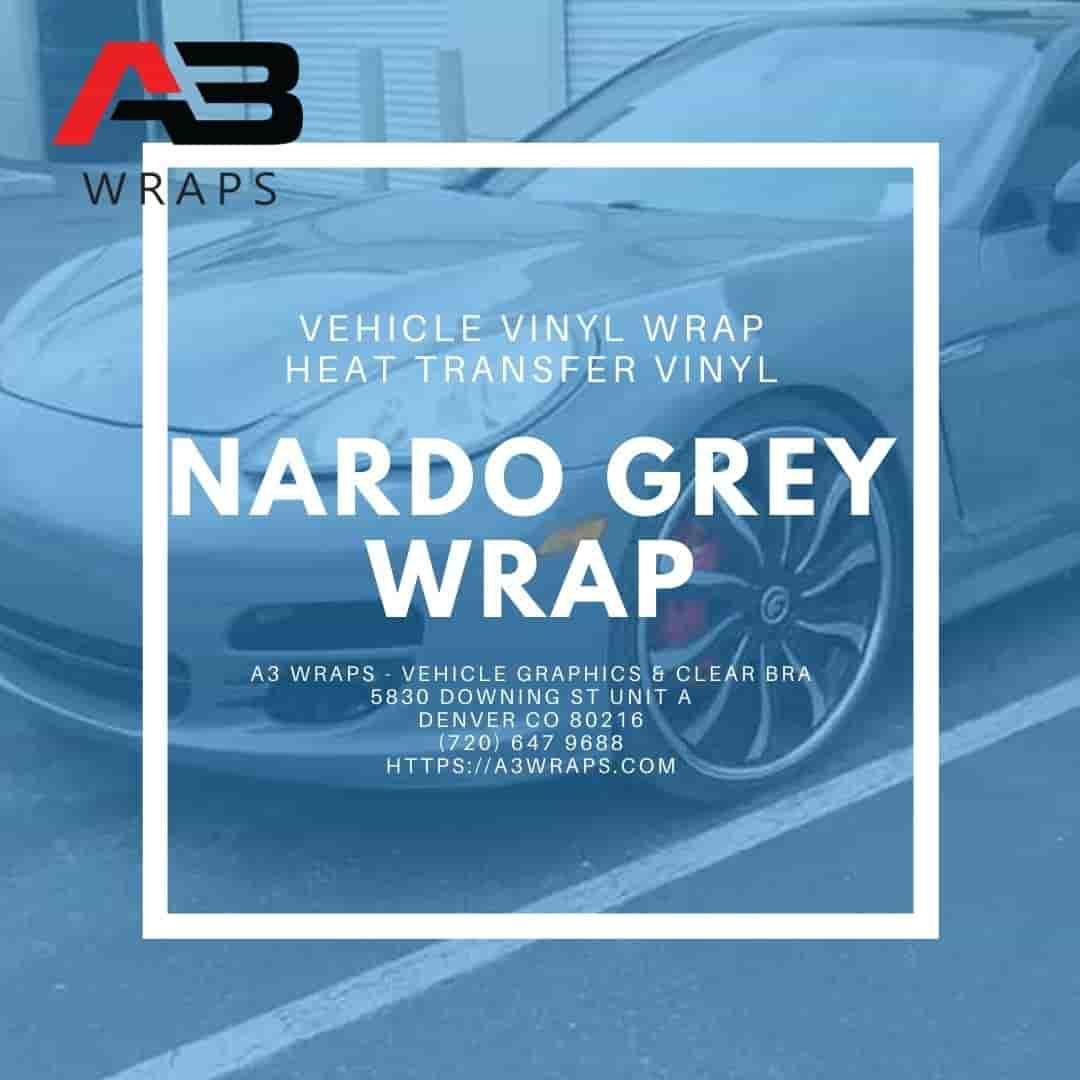 Denver Nardo Grey vinyl wrap -  A3 Wraps - Vehicle Graphics & Clear Bra
