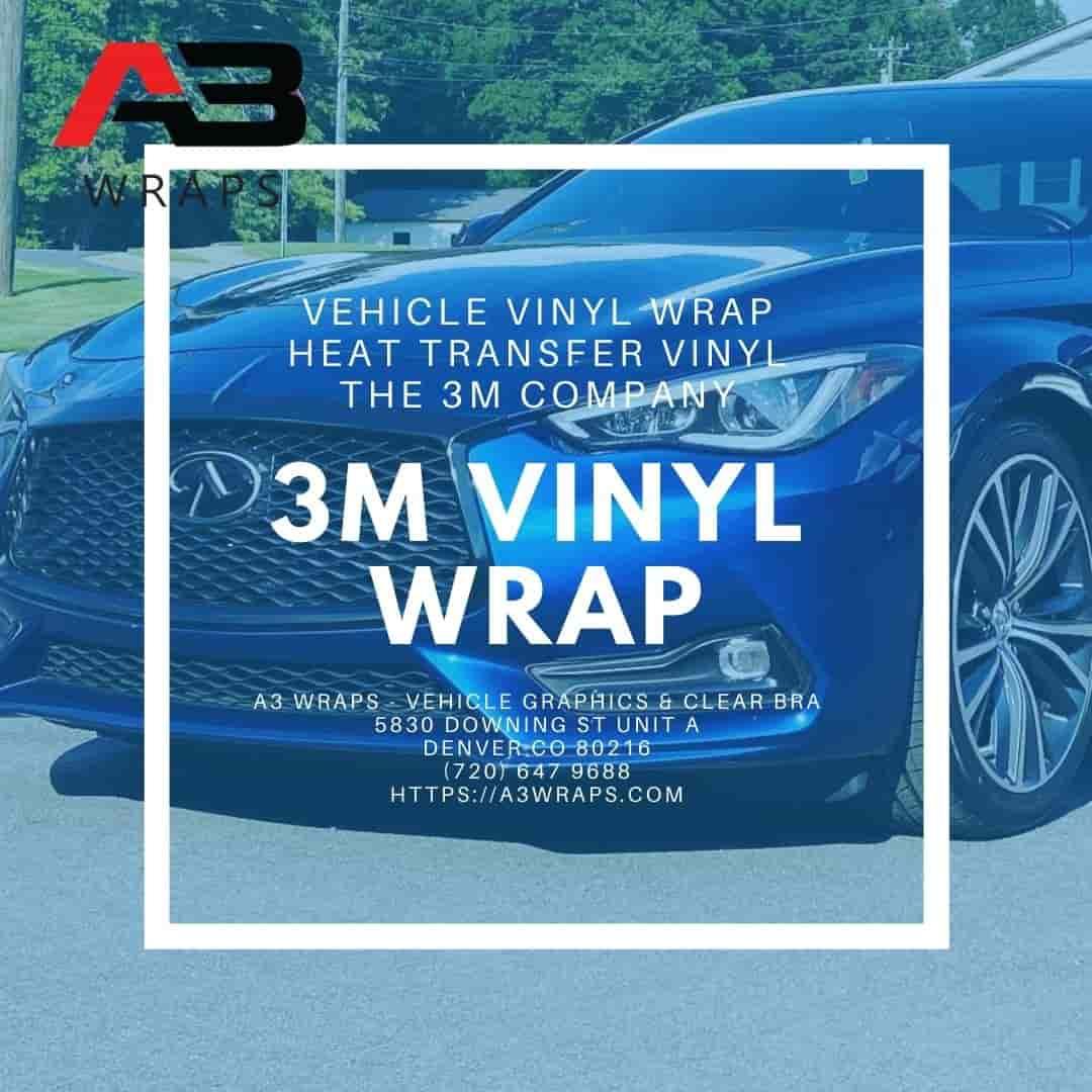Denver 3M vinyl wrap -  A3 Wraps - Vehicle Graphics & Clear Bra