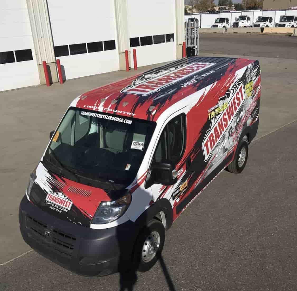 Vehicle graphics Denver - A3 Wraps of Denver, CO